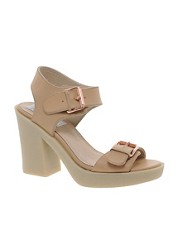 Bertie Frentic Crepe Sole Heeled Sandals