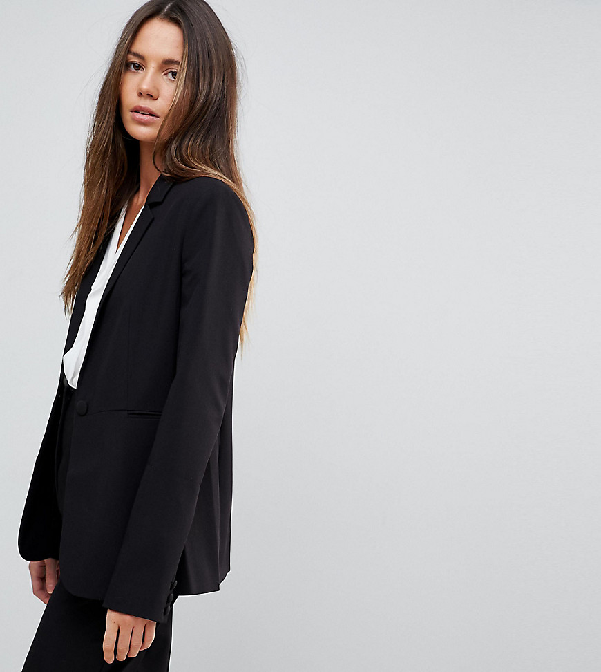 asos tall -  DESIGN Tall - The Tailored Mix-and-Match - Blazer - Schwarz