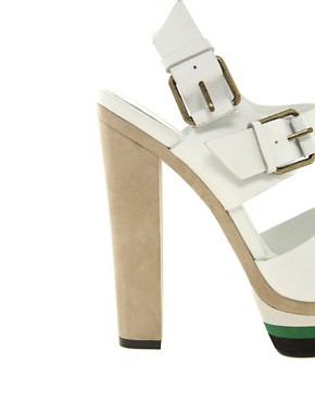 Image 2 ofALDO Vivola Buckled Heeled Sandals