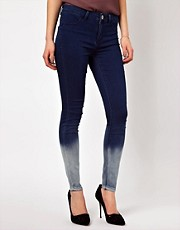 Oasis Skinny Jean In Ombre Effect