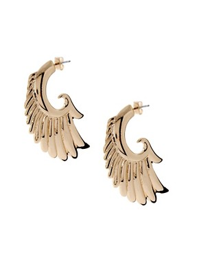 Image 1 of ASOS Rocker Wing Earrings