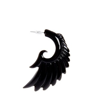 Image 3 of ASOS Rocker Wing Earrings