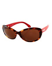 CK by Calvin Klein Two Tone Sunglasses