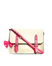 Satchel de cuero Scarlet de Paul&#39;s Boutique