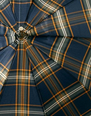 Image 3 of Fred Perry Tartan Umbrella