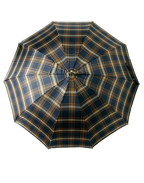 Image 4 of Fred Perry Tartan Umbrella