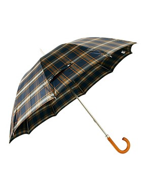 Image 1 of Fred Perry Tartan Umbrella