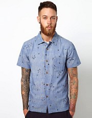 YMC Shirt with Bird Print