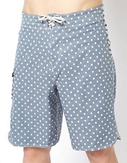 Vans Polka Stripe Boardshort 21&quot;