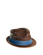 Ben Sherman Straw Trilby