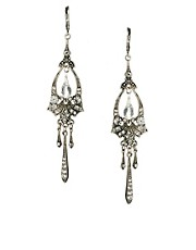 Orelia Vintage Deco Drop Earrings