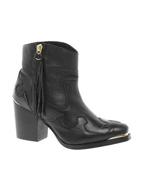 Image 1 ofASOS ACAPELLA Western Boots