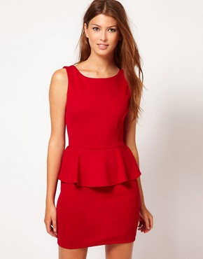 Image 1 ofPearl Peplum Dress