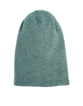 Image 4 ofASOS Mixed Knit Boyfriend Beanie