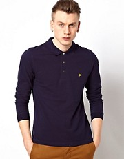 Lyle &amp; Scott Vintage Polo with Long Sleeves