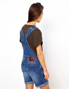Image 2 ofBellfield Dungaree Shorts