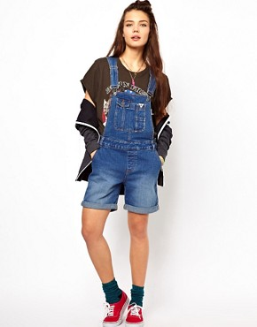 Image 4 ofBellfield Dungaree Shorts
