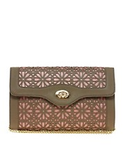 Oasis Exclusive To ASOS Cutwork Clutch