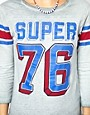 Image 3 ofSuperdry Quarterback Long Sleeved T-Shirt