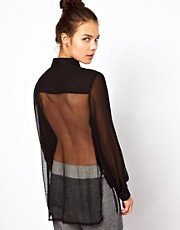 Pippa Lynn Shirt With Mesh Back