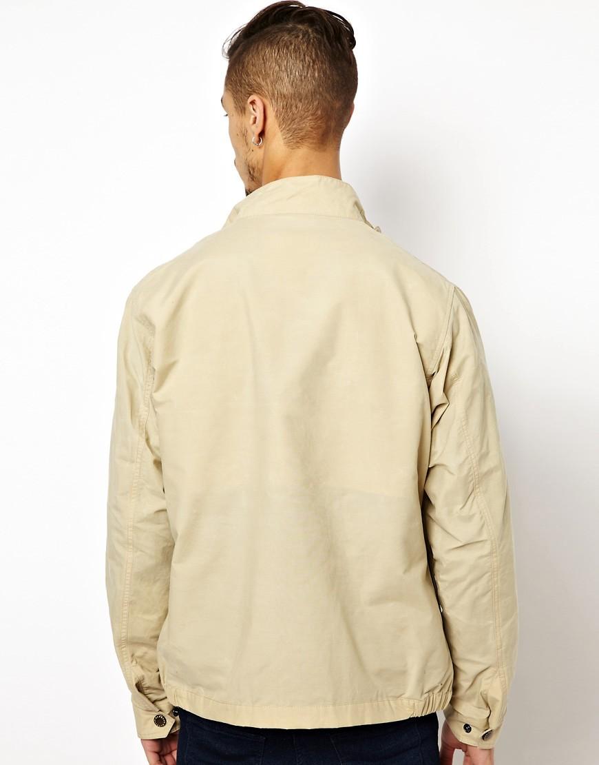 Image 2 ofBarbour Cotton Motorcycle Jacket