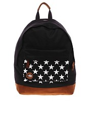 Mi Pac Star Print Backpack