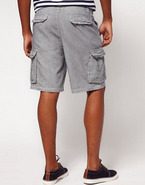 Image 2 ofBellfield Shorts with Ticking Stripe