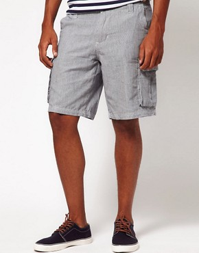Image 1 ofBellfield Shorts with Ticking Stripe