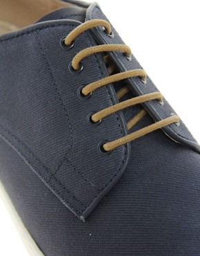 Image 2 ofFred Perry Laurel Wreath Nash Waxed Canvas Shoes