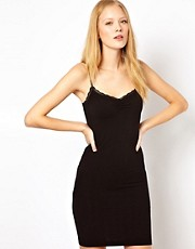 Selected Elly Camisole Dress with Lace Trim