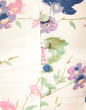Image 3 ofMotel Pretty Rose Cotton Dress