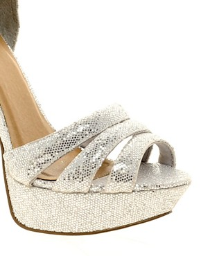 Image 3 ofASOS HOORAY Platform Heeled Sandals