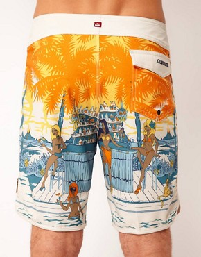 Image 2 ofQuiksilver Swim Up Board Shorts