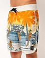 Image 1 ofQuiksilver Swim Up Board Shorts