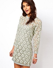 ASOS Heavily Embellished Shift Dress