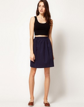 Image 1 ofSunspel Boxer Waist Cotton Skirt