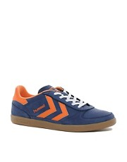 Hummel Victory Retro Trainers