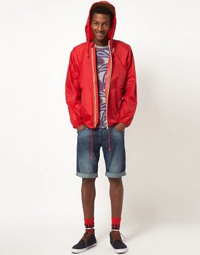 Image 4 ofK Way Claude Full Zip Cagoule