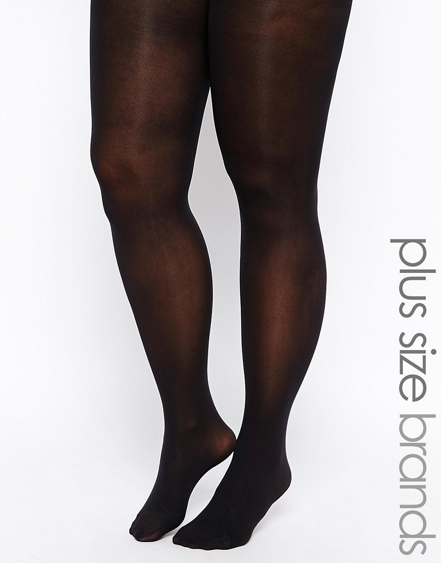 Image 1 of Pretty Polly Curves 60 Denier Opaque Tights