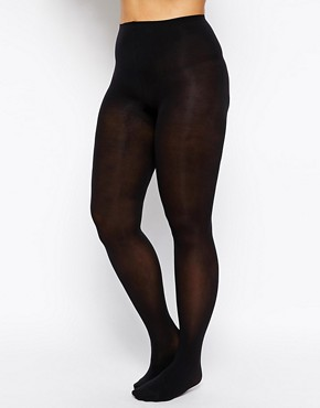 Image 2 ofPretty Polly Curves 60 Denier Opaque Tights