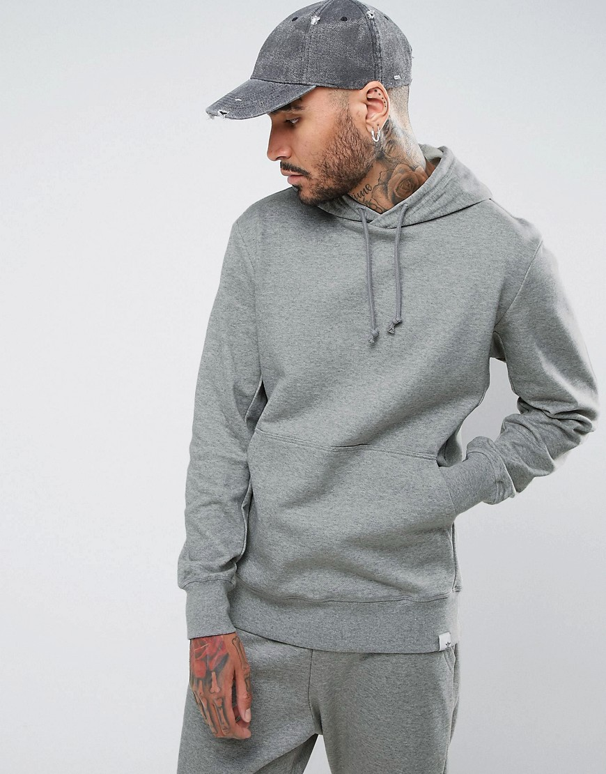 adidas Originals X By O Pullover Hoodie In Grey BQ3084 - Grey