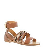 Whistles Bay Breeze Gladiator Tan Sandals