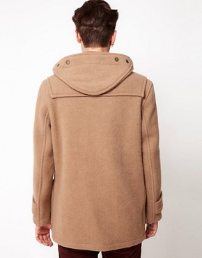 Image 2 ofGloverall Made In London Bolied Wool Short Monty Duffle Coat