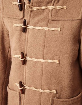 Image 3 ofGloverall Made In London Bolied Wool Short Monty Duffle Coat