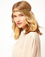 Deepa Gurnani Chain Drape Head Band