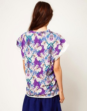 Image 2 ofASOS Africa Tunic in Mirror Print