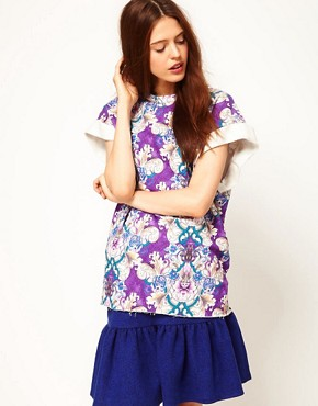 Image 1 ofASOS Africa Tunic in Mirror Print