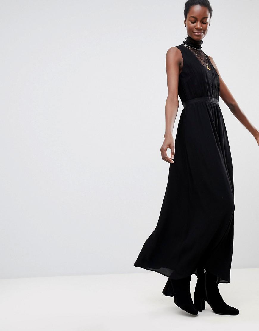 Imagen principal de producto de Vestido maxi con encaje en la parte delantera Sochic de Deby Debo - DEBY DEBO