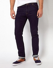 ASOS  Enge, marineblaue Jeans