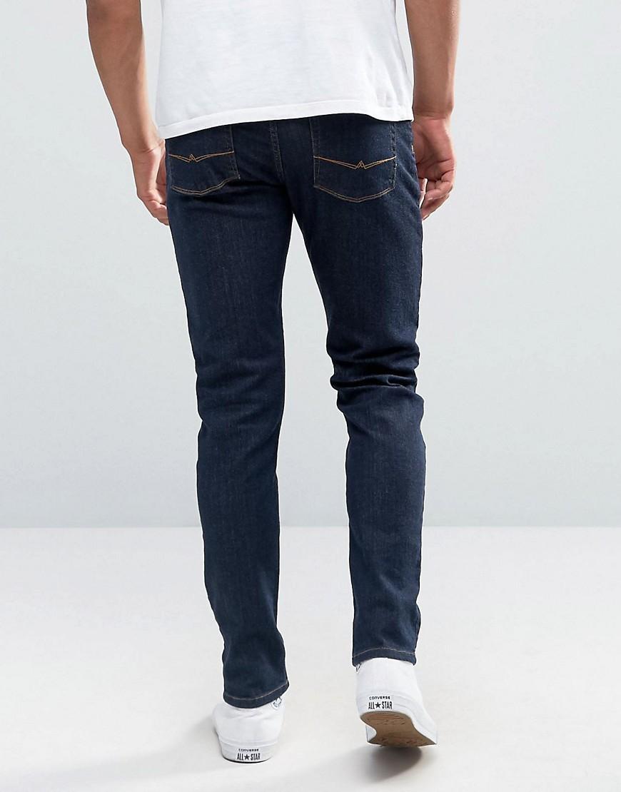 Image 2 ofASOS Skinny Jeans In Indigo